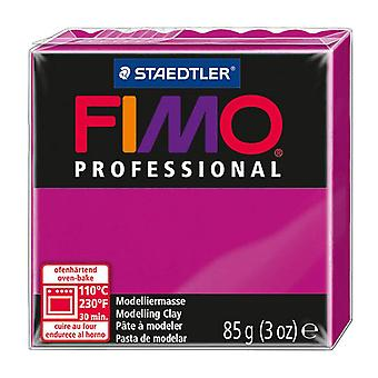 Fimo Professional Modelling Clay, Magenta, 85 g