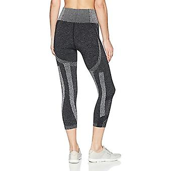 Beachbody Women's Intent Compression Crop, Black, X-Small, Black, Size X-Small