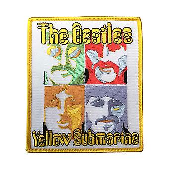 The Beatles Patch Sea of Science Band Logo new Official Woven Iron on (10cmx5cm)