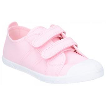 Sneakers met Flossy Sasha Junior canvas Touch Fasten roze