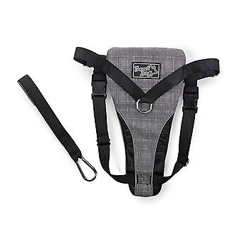 2 In 1 Dog Harness Combo Travel Car No Pull