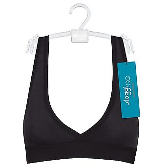 Sloggi Women GO ALLROUND Bralette, Black, One Size