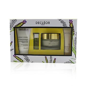 Decleor Caja reafirmante: Aroma Cleanse 50ml + Aromessence Lavanduka Iris 5ml+ Prolagene Lift Creme 50ml+ Prolagene Lift Masque 15ml - 4pcs