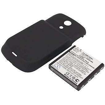 Sprint Extended Battery for Samsung D700, Epic 4G, Galaxy S (2400mAh)