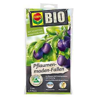 COMPO ORGANIC Plum Made Traps, 2 Pieces
