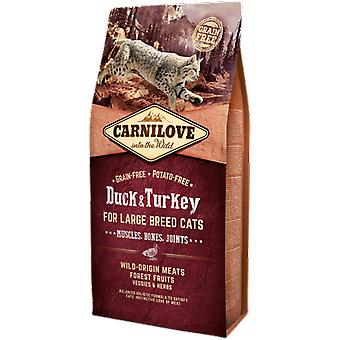 Carnilove Large Breed Cats Duck & Turkey (Cats , Cat Food , Dry Food)