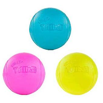 Red Dingo Flingo Ball Thrower Tuffball Lime Green  (Dogs , Toys & Sport , Balls)
