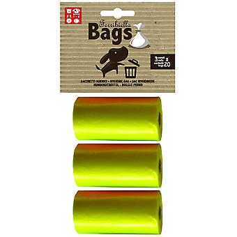 Ferribiella Replacement Bags 3 Rolls x 20 Bags