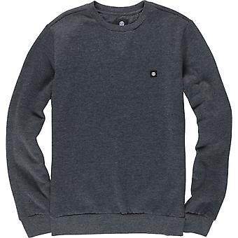 Element Men's Brushed Fleece Sweater ~ 92CR charcoal heather