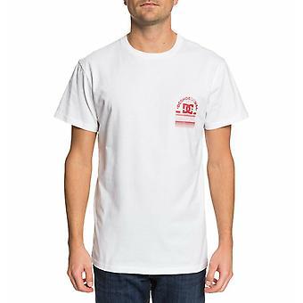DC Shoes' Men's T-Shirt ~ DC Arch white