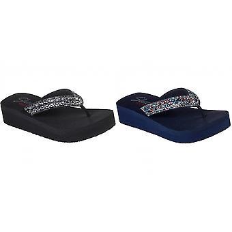Skechers Womens/Ladies Vinyasa Glory Day Flip flop