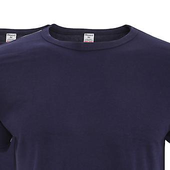 FLOSO Mens Interlock Underwear T-Shirt (Pack Of 3)
