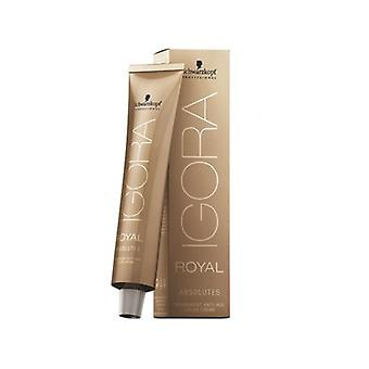Permanent Colour Creme Igora Absolutes N9-60 Schwarzkopf (60 ml)
