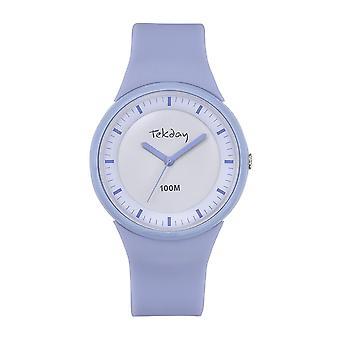Tekday 654626 - Silicone Violet Women's Silicone Case Purple Bracelet