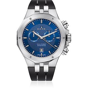 Edox - Armbandsur - Herrar - Delfin - Kronograf - 10110 3CA BUIN