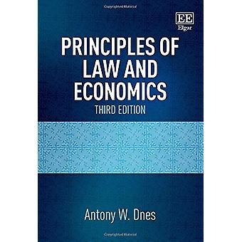 Principes de droit et d'économie - Troisième édition d'Antony William Dnes