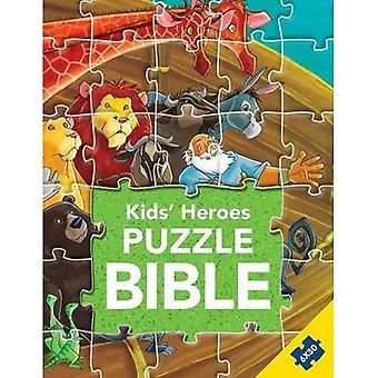 Kids' Heroes Puzzle Bible (Kids Puzzle Bibles)
