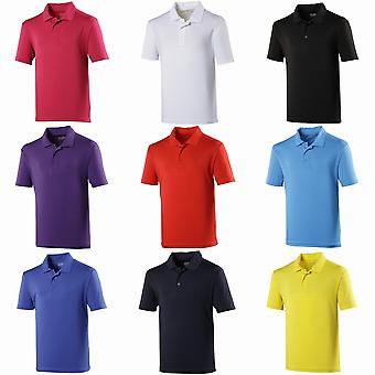 Just Cool Kids Unisex Sports Polo Plain Shirt
