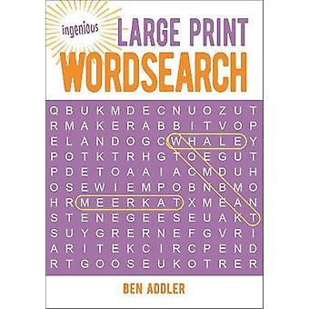 Large Print Wordsearch by Ben Addler - 9781789503548 Book