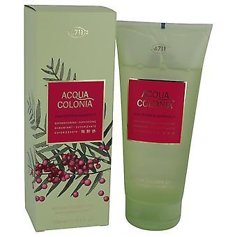 4711 Acqua Colonia Pink Pepper & Grapefruit Shower Gel By Maurer & Wirtz 6.8 oz Shower Gel