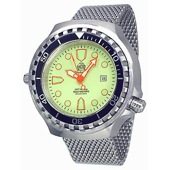 Tauchmeister T0269MIL automatic diving watch XXL 1000m