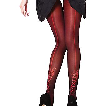 Couture Womens/Ladies Vixen Brigitte Opaque Backseam Tights (1 Pair)
