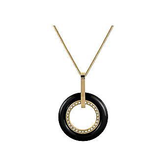 Jacques Lemans - necklace with ceramic insert - S-C64C