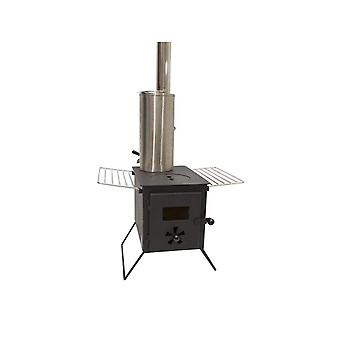Outbacker® 'firebox' tent stove & water heater package