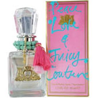 Juicy Couture EDP voor vrede, liefde en Juicy Couture Eau de toilette 50ml Spray