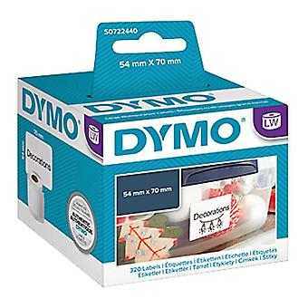 Étiquette Dymo Lw Mp 54 mm X 70 mm