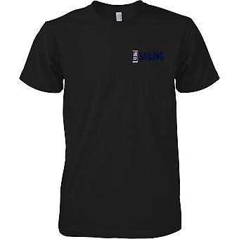 RN sejlads Logo 1 - Royal Navy Sports T-Shirt farve