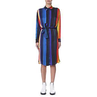 Ps By Paul Smith W2r351da3050092 Women's Multicolor Viscose Dress