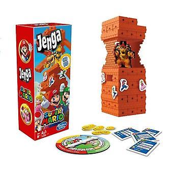 Hasbro Jenga Nintendo Super Mario Edition  Familje Och Party Spel