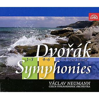 Czech Po & Neumann - Dvor K: Symphonies Nos. 1-9 [Box Set] [CD] USA import
