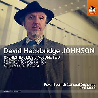 Johnson / Royal Scottish National Orch - Orchestral Music 2 [CD] USA import
