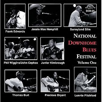 National Downhome Blues Festival - Vol. 1-National Downhome Blues Festival [CD] USA import