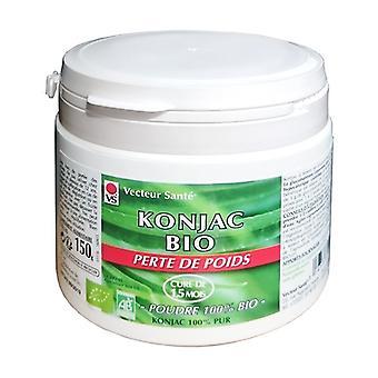Konjac organic powder 150 g of powder