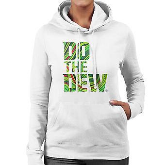 Mountain Dew Do The Dew slagord kvinner ' s hette genser