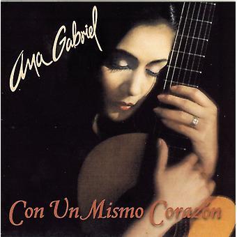 Ana Gabriel - Con Un Mismo Corazon [CD] USA import