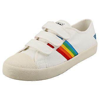 Gola Coaster Rainbow Naisten Muoti Trainers Off White Monivärinen