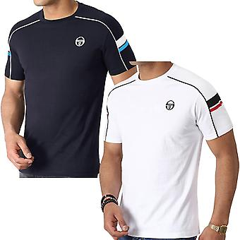 Sergio Tacchini Mens Class Short Sleeve Casual Cotton Crew Neck T-Shirt Top Tee