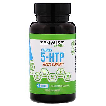 Zenwise Health, Calming 5-HTP Stress Support, 100 mg, 120 Capsules végétariennes
