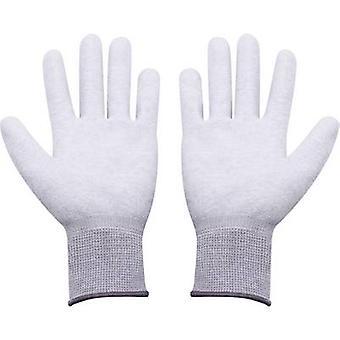 Quadrios ESD glove Size: L Polyamide, Polyurethane