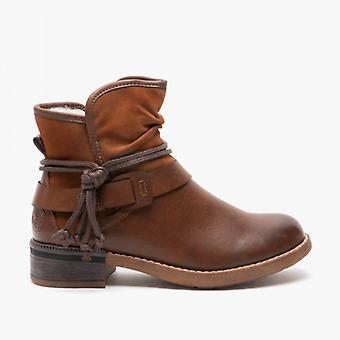 ريكر 94689-22 السيدات الكاحل أحذية براون