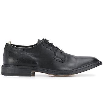 Officine Creative Ezcr047001 Men's Black Leather Lace-up Shoes