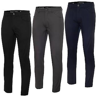 Dwyers & Co Mens 2021 Tech Stretch Slim Performance Light Golf Trousers