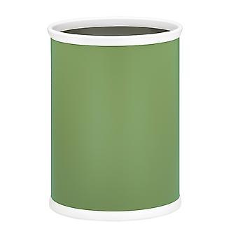 Mist Green 14 Pouces Panier à déchets ovales