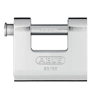 ABUS 92/65mm Monoblock Brass Body Shutter Locked ABU9265C