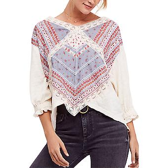 Free People | Prairie Days Knit Blouse