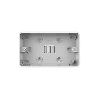 Schneider Electric GGBL9225S LWM 25mm 2 Gang Surface Pattress Box